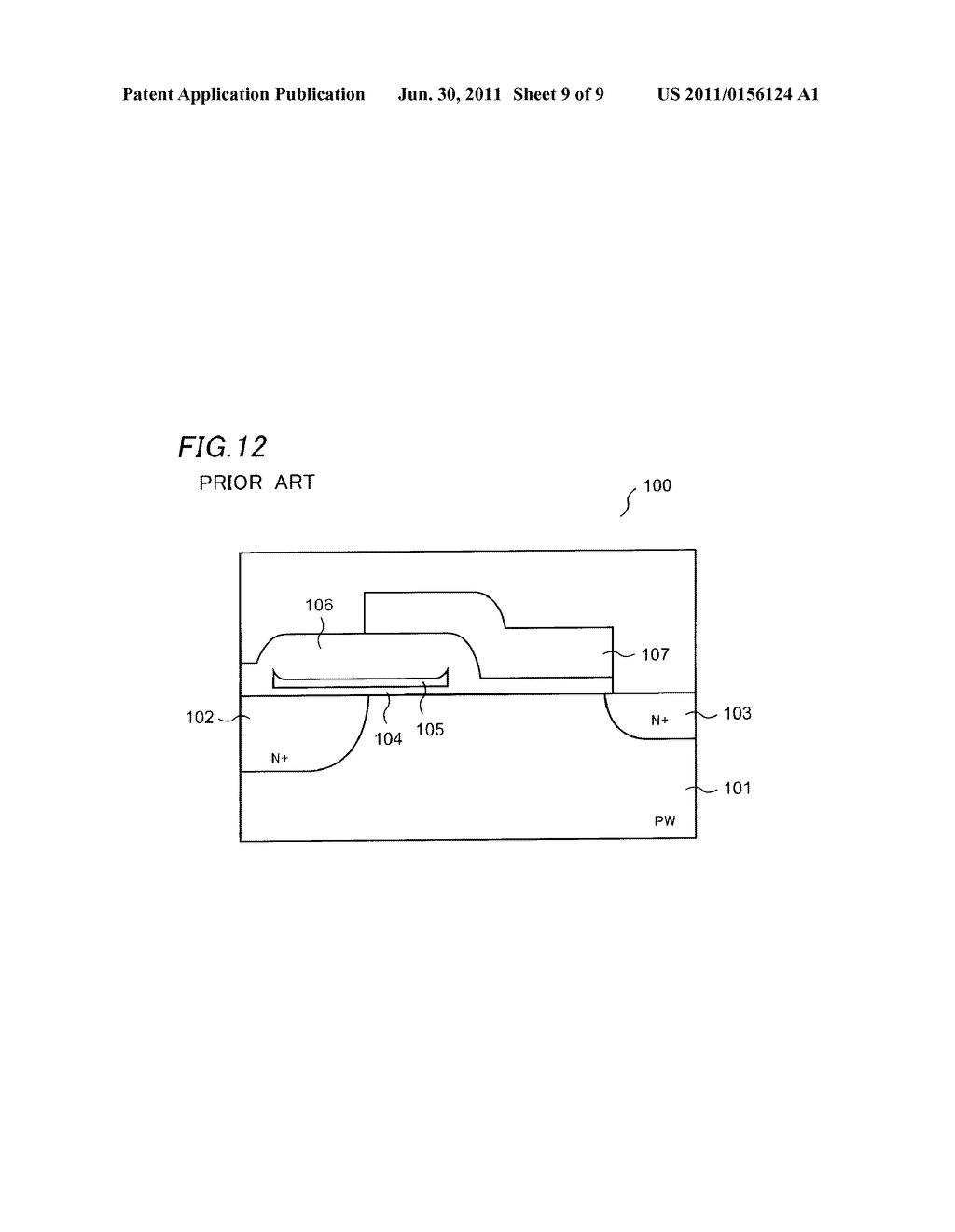 NONVOLATILE SEMICONDUCTOR MEMORY DEVICE AND METHOD OF MANUFACTURING THE     SAME - diagram, schematic, and image 10
