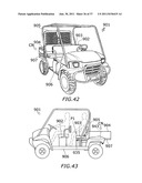 PICK-UP STYLE UTILITY VEHICLE WITH EXPANDABLE CARGO BED diagram and image