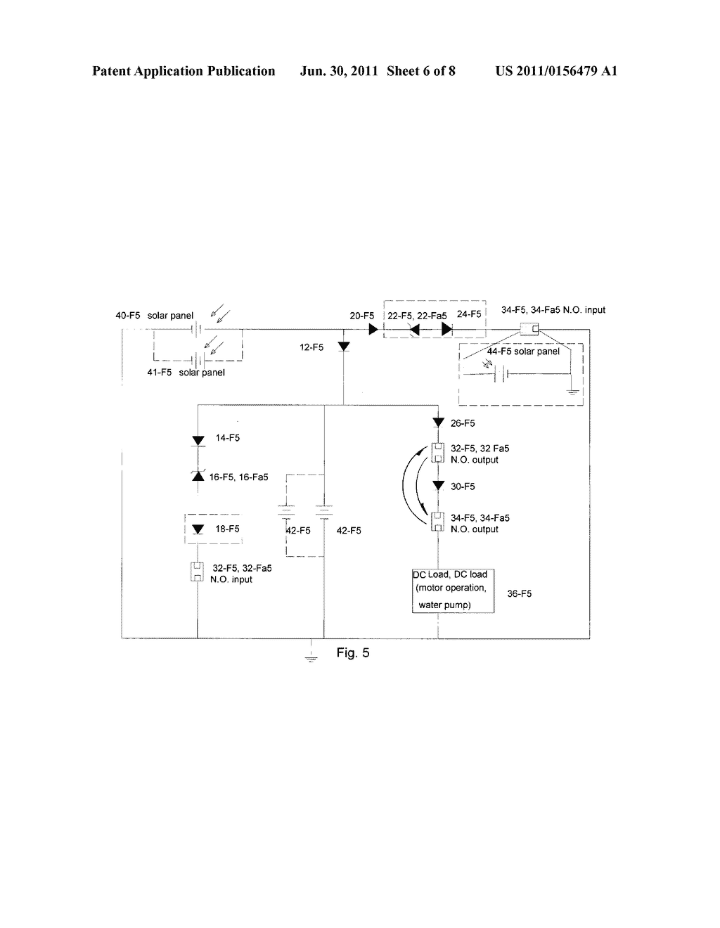 Solar powered DC load system - diagram, schematic, and image 07