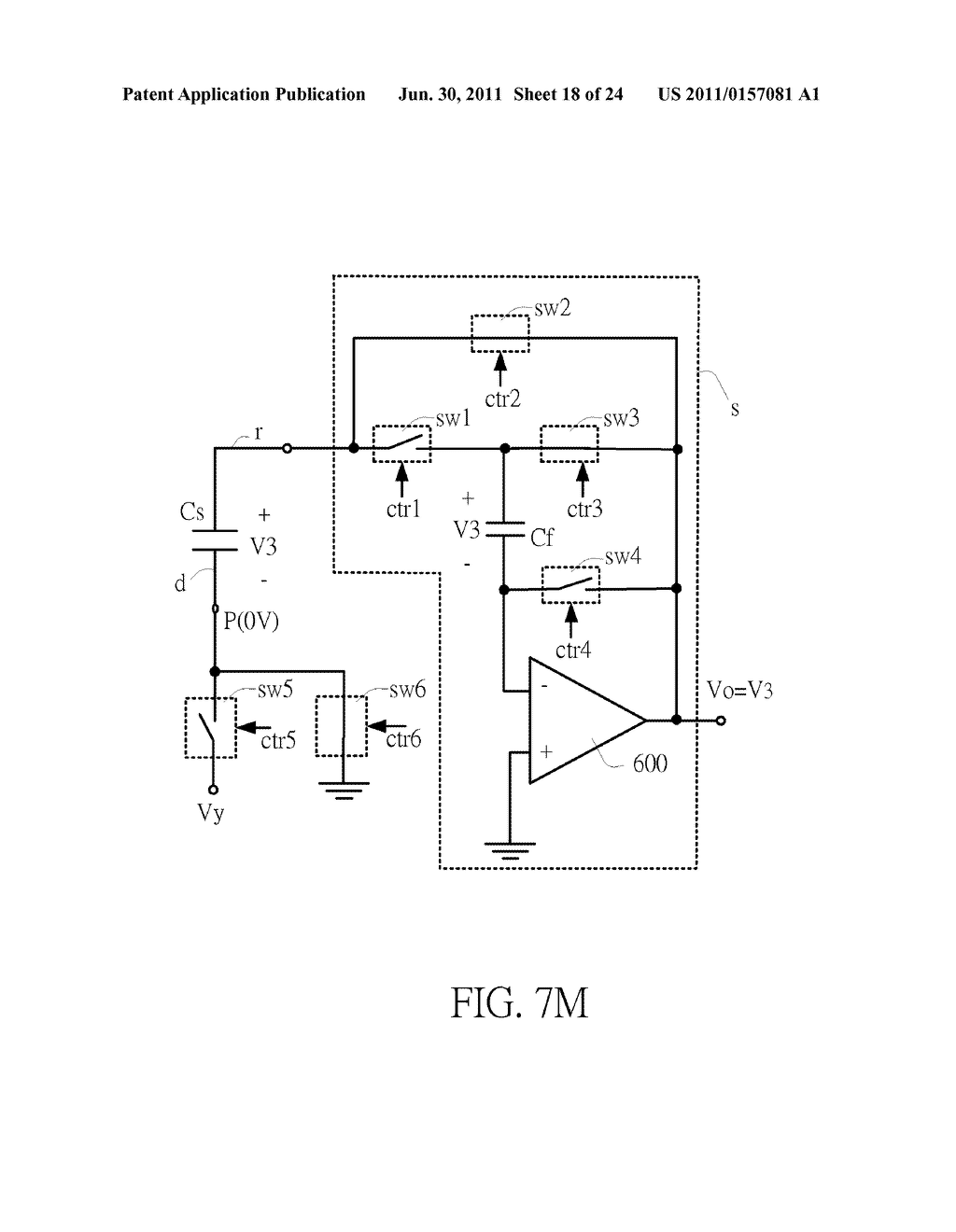 SENSING CIRCUIT FOR USE WITH CAPACITIVE TOUCH PANEL - diagram, schematic, and image 19
