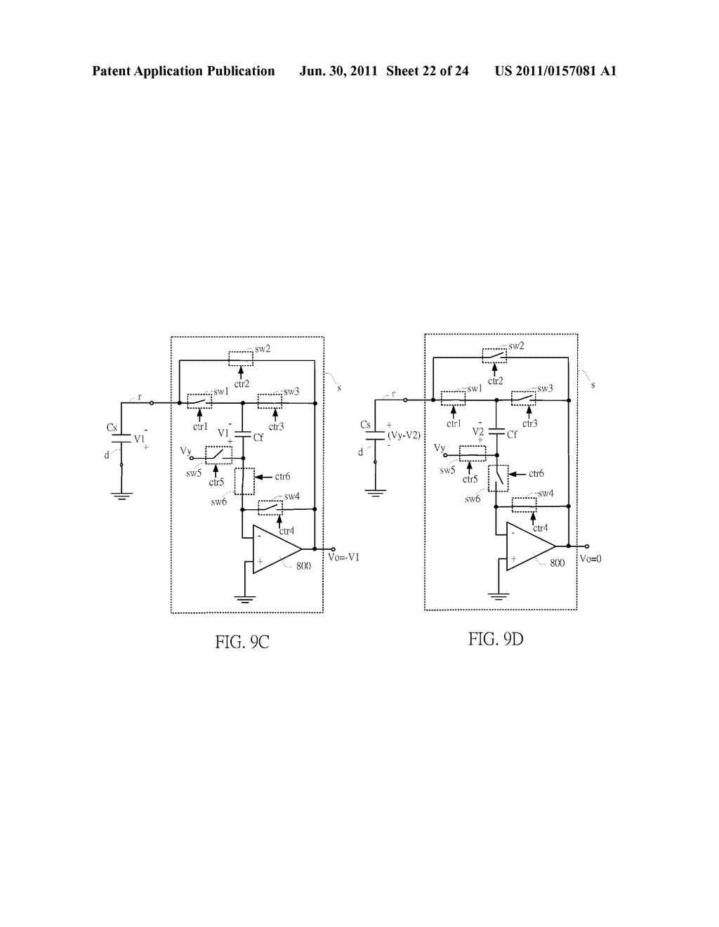 SENSING CIRCUIT FOR USE WITH CAPACITIVE TOUCH PANEL - diagram, schematic, and image 23