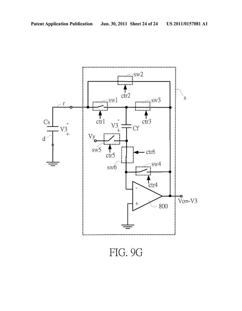SENSING CIRCUIT FOR USE WITH CAPACITIVE TOUCH PANEL - diagram, schematic, and image 25