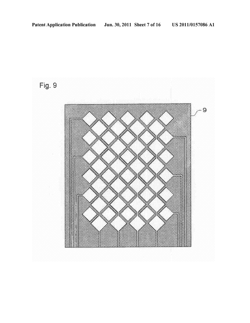 ELECTROSTATIC CAPACITY TYPE TOUCH PANEL, DISPLAY DEVICE AND PROCESS FOR     PRODUCING ELECTROSTATIC CAPACITY TYPE TOUCH PANEL - diagram, schematic, and image 08