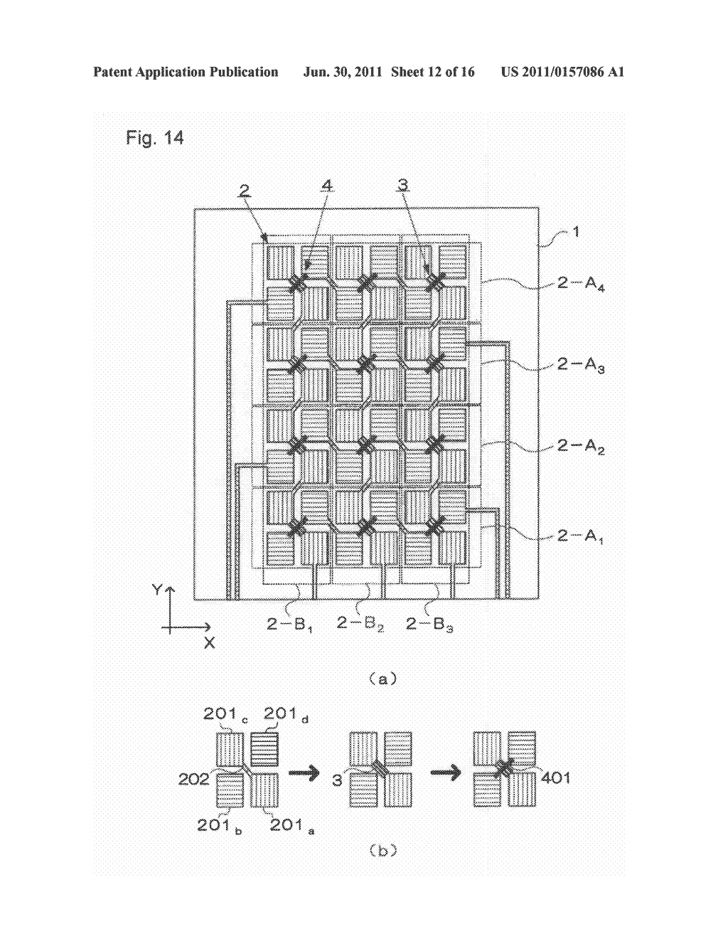 ELECTROSTATIC CAPACITY TYPE TOUCH PANEL, DISPLAY DEVICE AND PROCESS FOR     PRODUCING ELECTROSTATIC CAPACITY TYPE TOUCH PANEL - diagram, schematic, and image 13