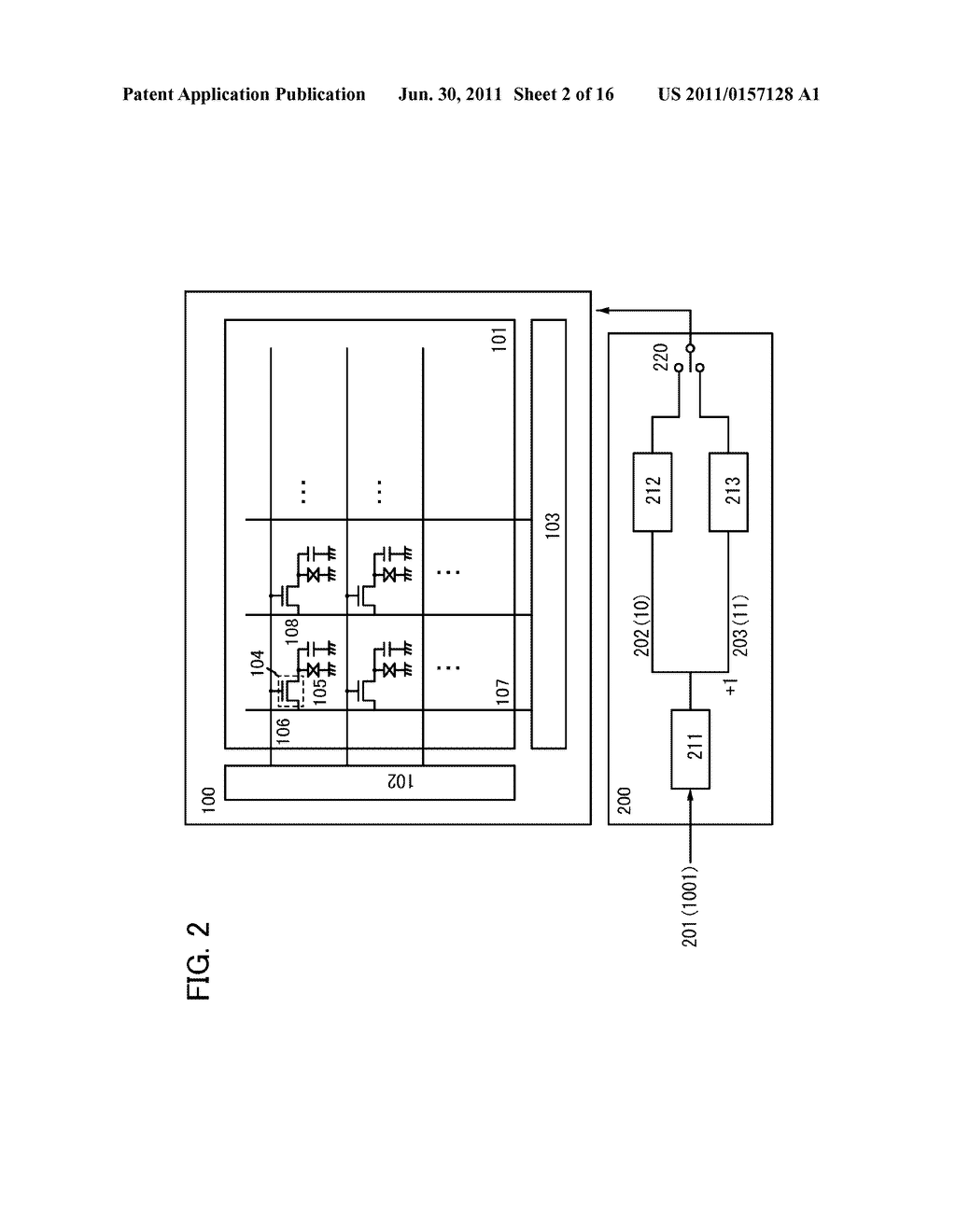 DISPLAY DEVICE AND ELECTRONIC DEVICE - diagram, schematic, and image 03