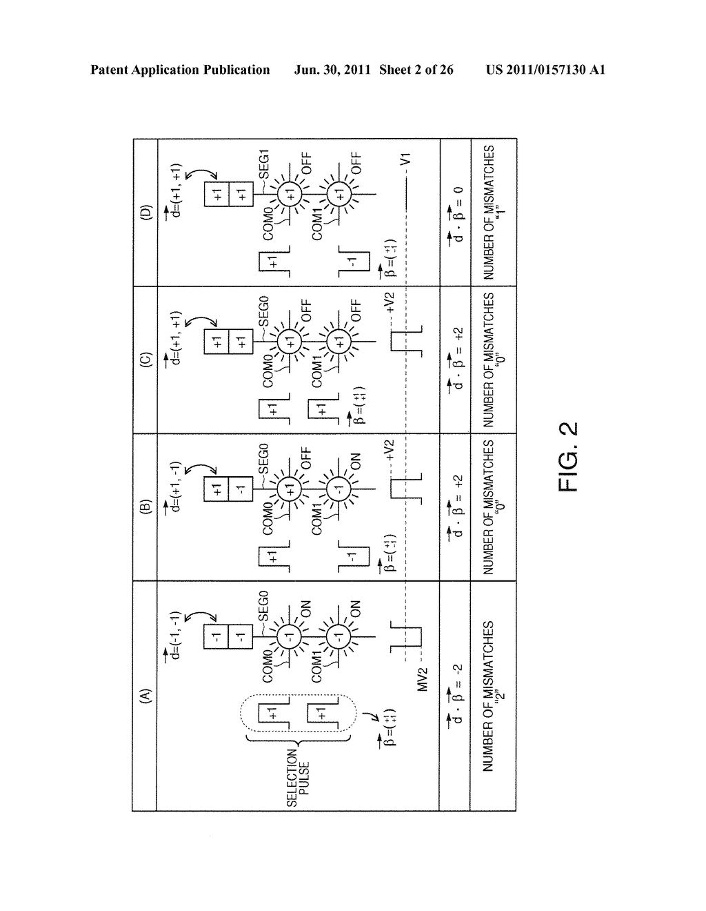 DRIVING METHOD OF ELECTRO OPTICAL DEVICE, DRIVING DEVICE OF ELECTRO     OPTICAL DEVICE, ELECTRO OPTICAL DEVICE, AND ELECTRONIC INSTRUMENT - diagram, schematic, and image 03
