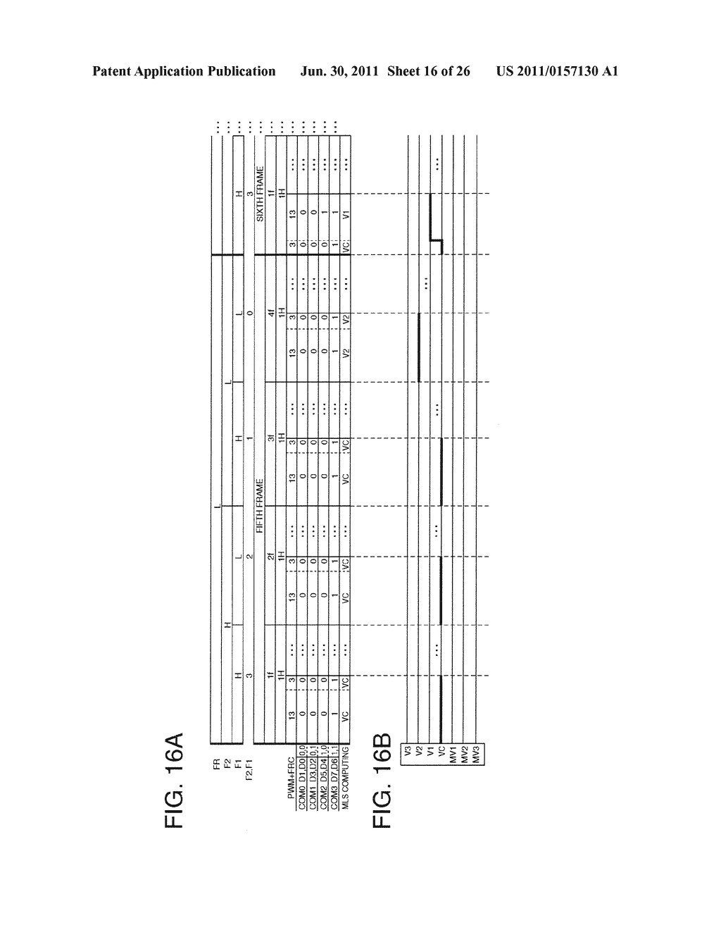 DRIVING METHOD OF ELECTRO OPTICAL DEVICE, DRIVING DEVICE OF ELECTRO     OPTICAL DEVICE, ELECTRO OPTICAL DEVICE, AND ELECTRONIC INSTRUMENT - diagram, schematic, and image 17