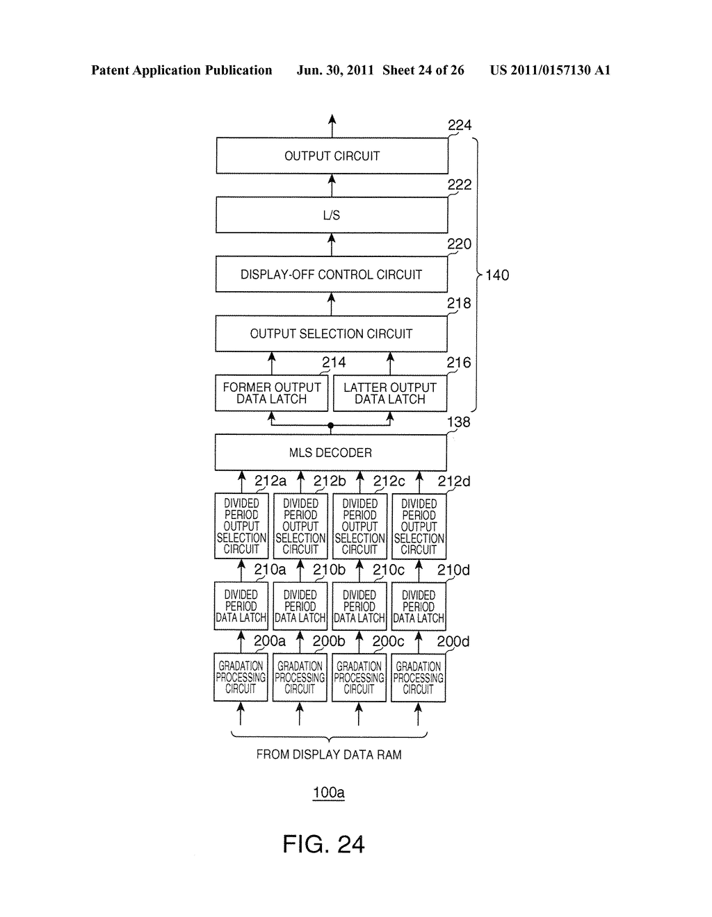 DRIVING METHOD OF ELECTRO OPTICAL DEVICE, DRIVING DEVICE OF ELECTRO     OPTICAL DEVICE, ELECTRO OPTICAL DEVICE, AND ELECTRONIC INSTRUMENT - diagram, schematic, and image 25