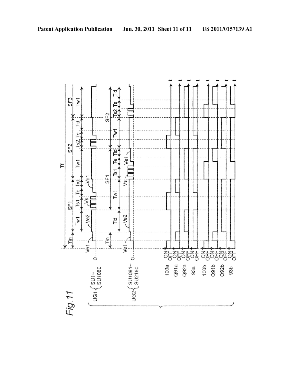 Driver Circuit for use in Plasma Display Panel Provided for Driving     Dispaly Electrode Pairs Configured to Include Scan Electrode and     Sustaining Electrodes - diagram, schematic, and image 12