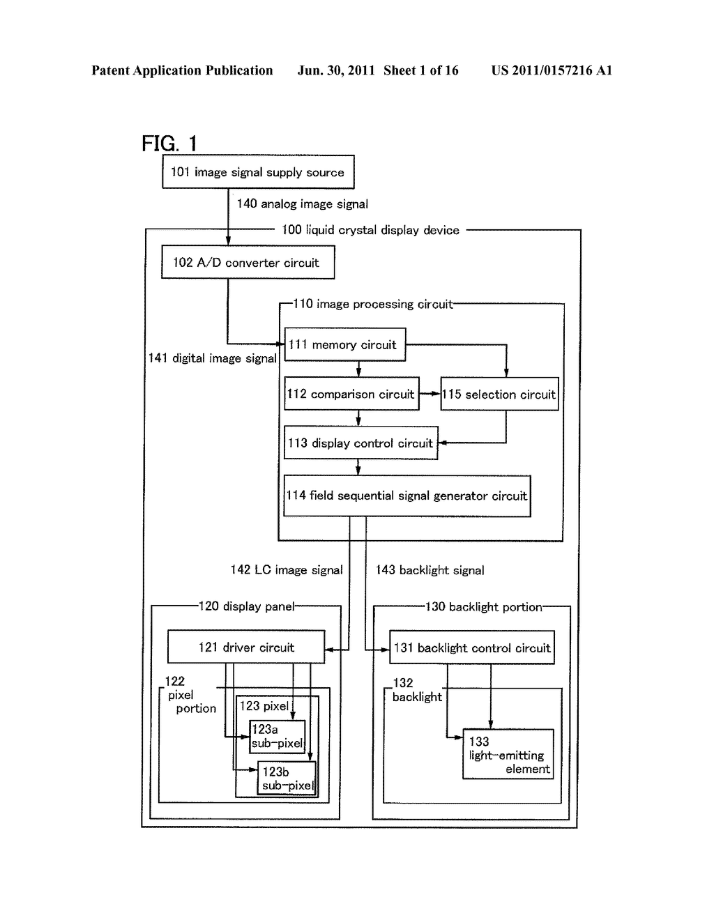 LIQUID CRYSTAL DISPLAY DEVICE AND ELECTRONIC DEVICE - diagram, schematic, and image 02