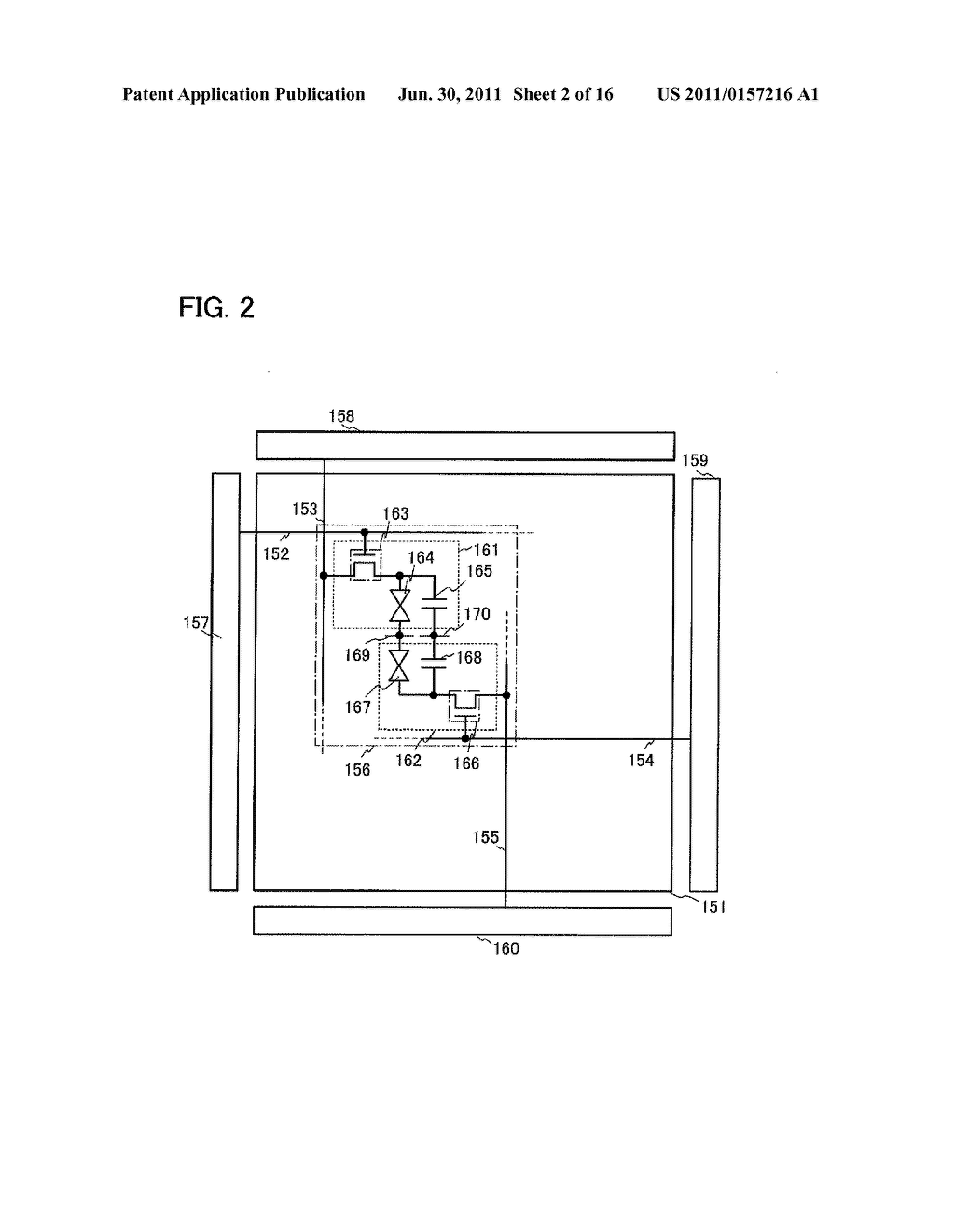 LIQUID CRYSTAL DISPLAY DEVICE AND ELECTRONIC DEVICE - diagram, schematic, and image 03