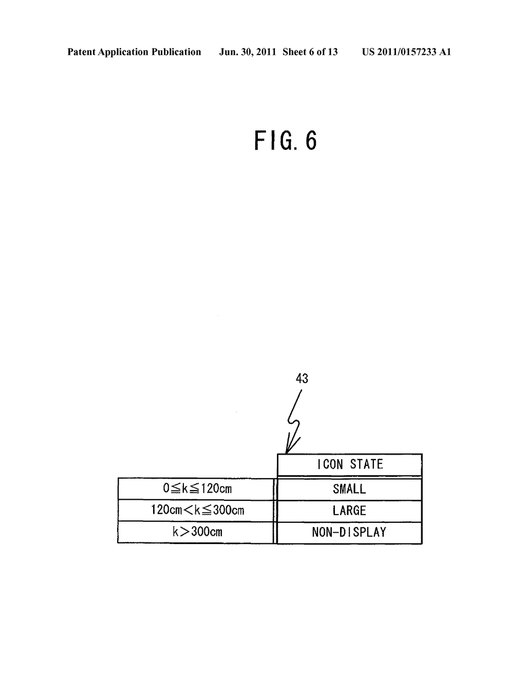 DISPLAY APPARATUS, DISPLAY CONTROL METHOD, AND NON-TRANSITORY     COMPUTER-READABLE MEDIUM STORING DISPLAY CONTROL PROGRAM - diagram, schematic, and image 07