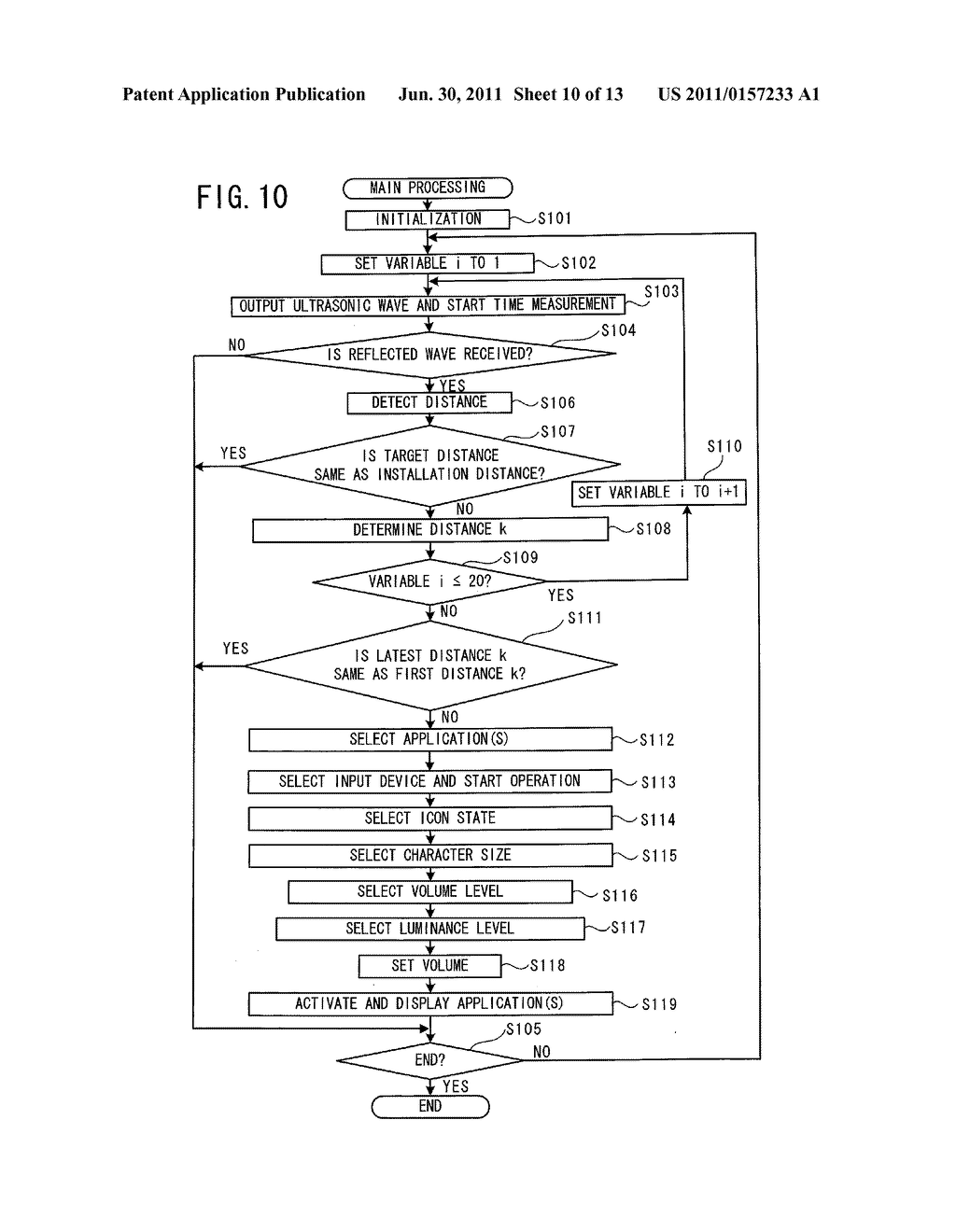 DISPLAY APPARATUS, DISPLAY CONTROL METHOD, AND NON-TRANSITORY     COMPUTER-READABLE MEDIUM STORING DISPLAY CONTROL PROGRAM - diagram, schematic, and image 11