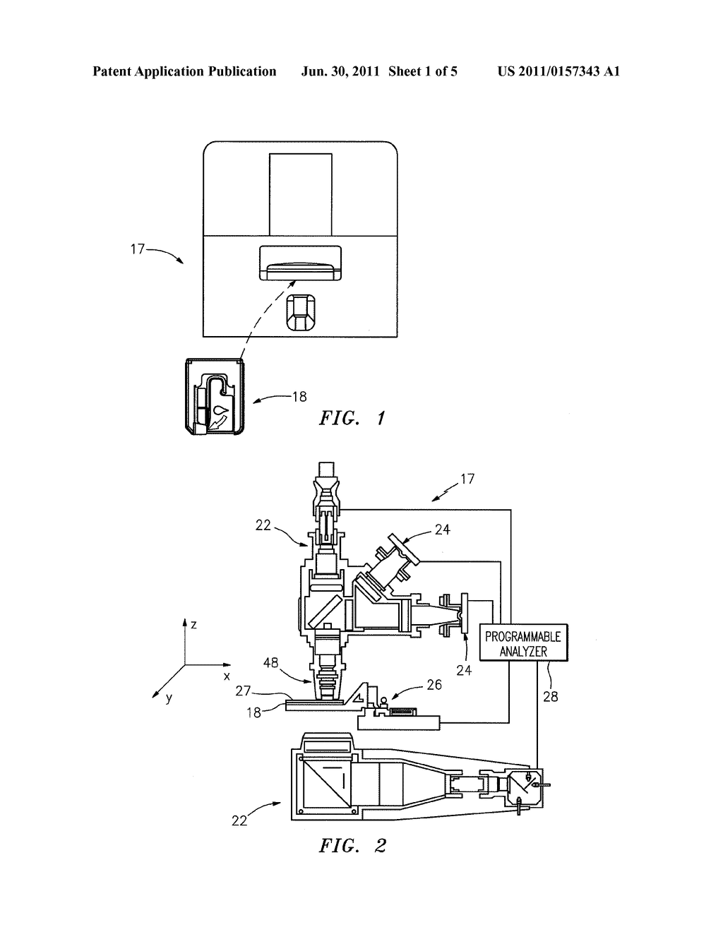 METHOD AND APPARATUS FOR SECURING PLANAR ORIENTATION OF ANALYSIS CHAMBER - diagram, schematic, and image 02