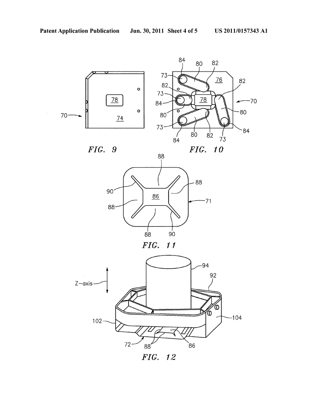 METHOD AND APPARATUS FOR SECURING PLANAR ORIENTATION OF ANALYSIS CHAMBER - diagram, schematic, and image 05