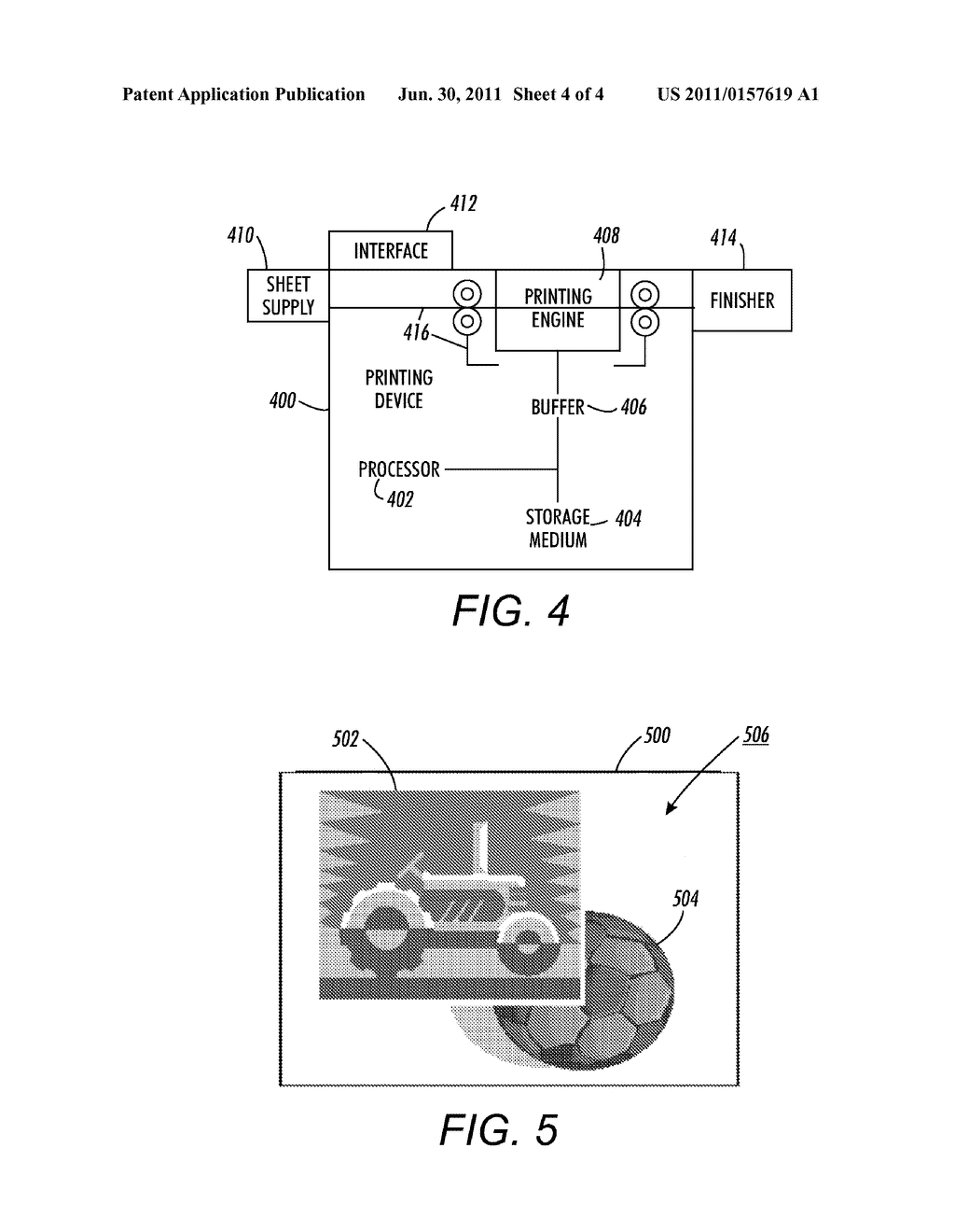 METHOD AND APPARATUS FOR IMPROVING RASTER IMAGE PROCESSING PERFORMANCE FOR     VARIABLE INFORMATION PRINTING HAVING REUSABLE OBJECTS - diagram, schematic, and image 05