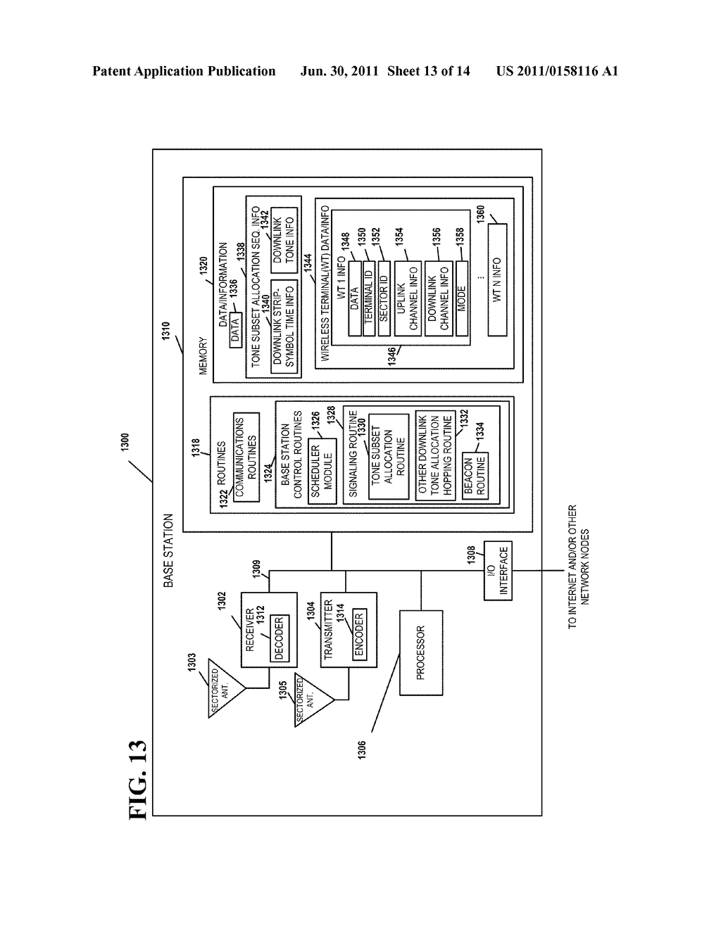 METHOD AND APPARATUS THAT FACILITATES A TIMING ALIGNMENT IN A MULTICARRIER     SYSTEM - diagram, schematic, and image 14