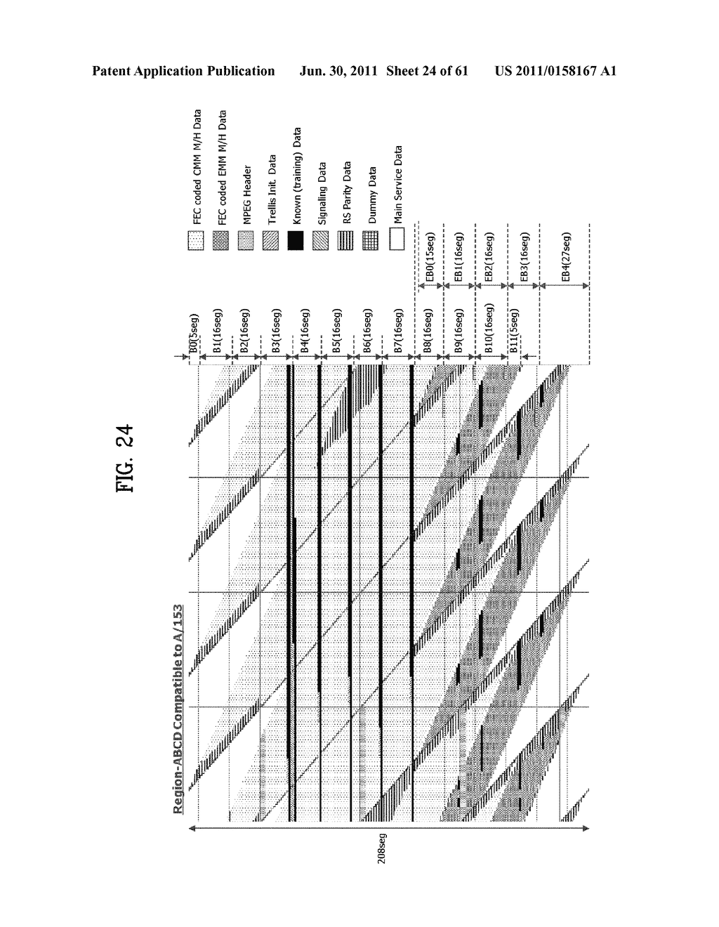 TRANSMITTING SYSTEM AND METHOD OF TRANSMITTING DIGITAL BROADCAST SIGNAL IN     TRANSMITTING SYSTEM - diagram, schematic, and image 25
