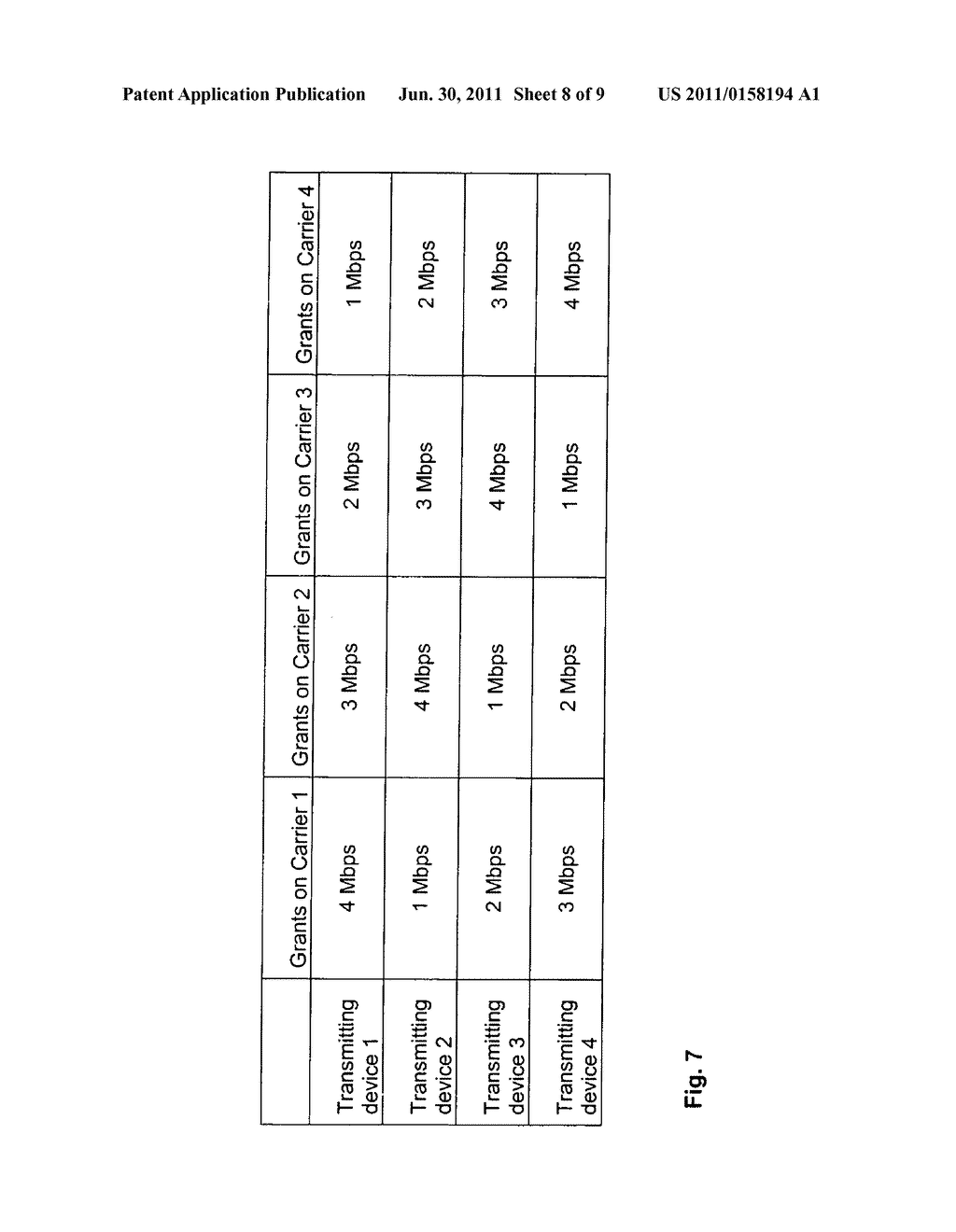 Scheduling of Data Transmissions in Multi-Carrier Data Transmission     Networks - diagram, schematic, and image 09