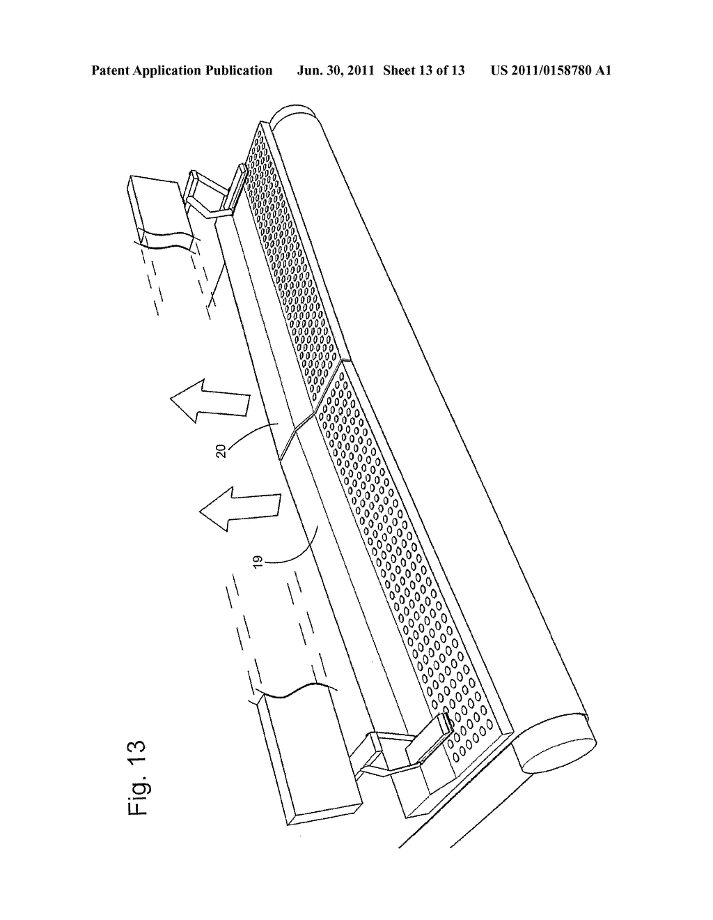 METHOD OF TRANSFERRING A PIECE OF CLOTH AND A LAUNDRY APPARATUS FOR     PERFORMING THE METHOD - diagram, schematic, and image 14