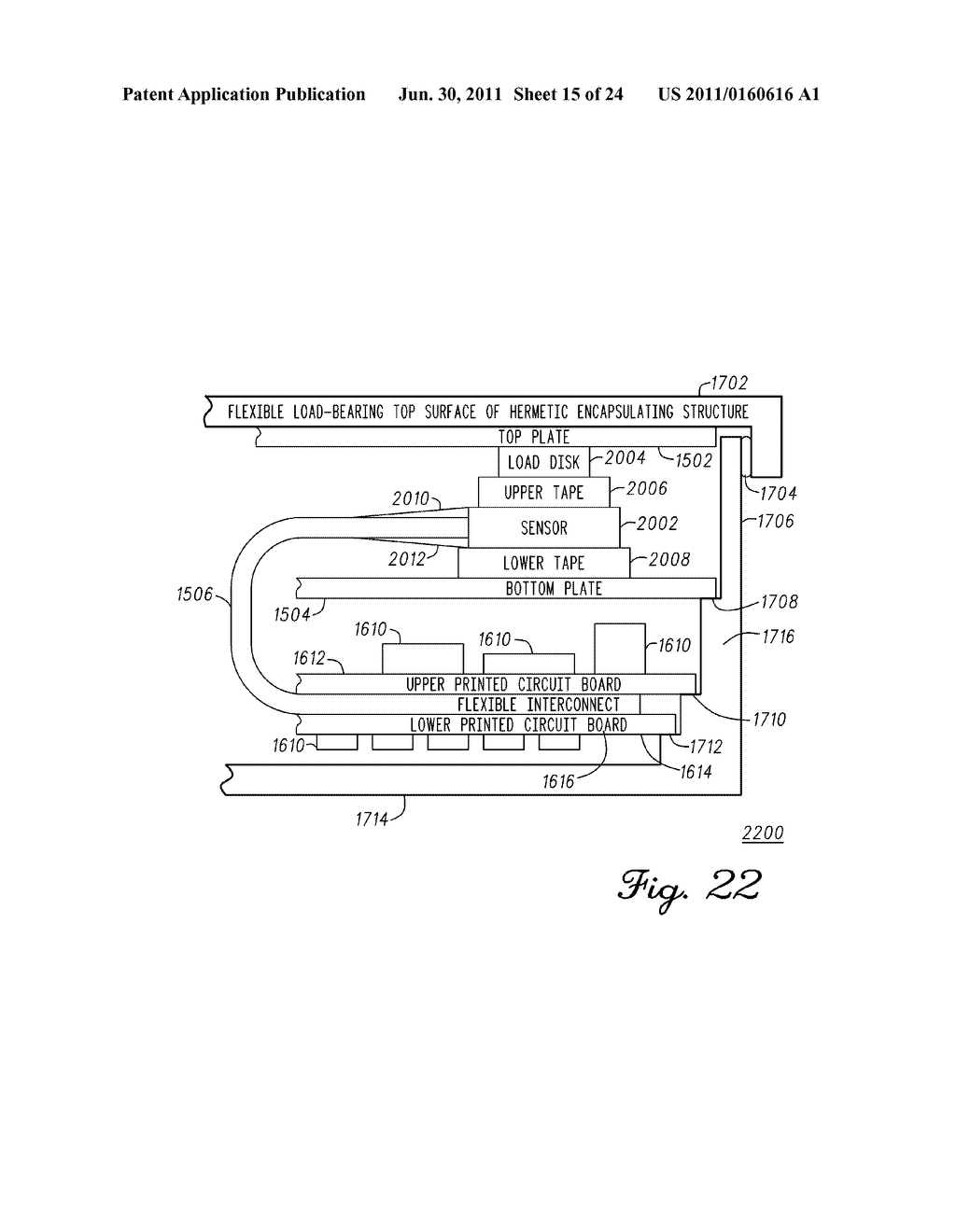 SYSTEM AND METHOD FOR ORTHOPEDIC LOAD AND LOCATION SENSING - diagram, schematic, and image 16