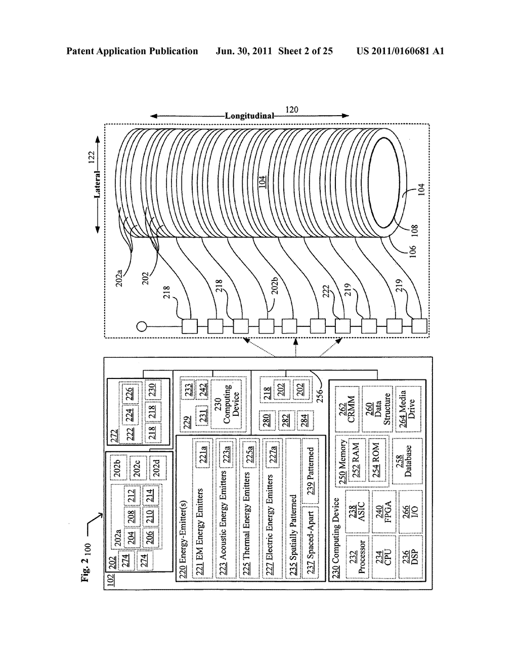 Systems, devices, and methods including catheters having light removable     coatings based on a sensed condition - diagram, schematic, and image 03