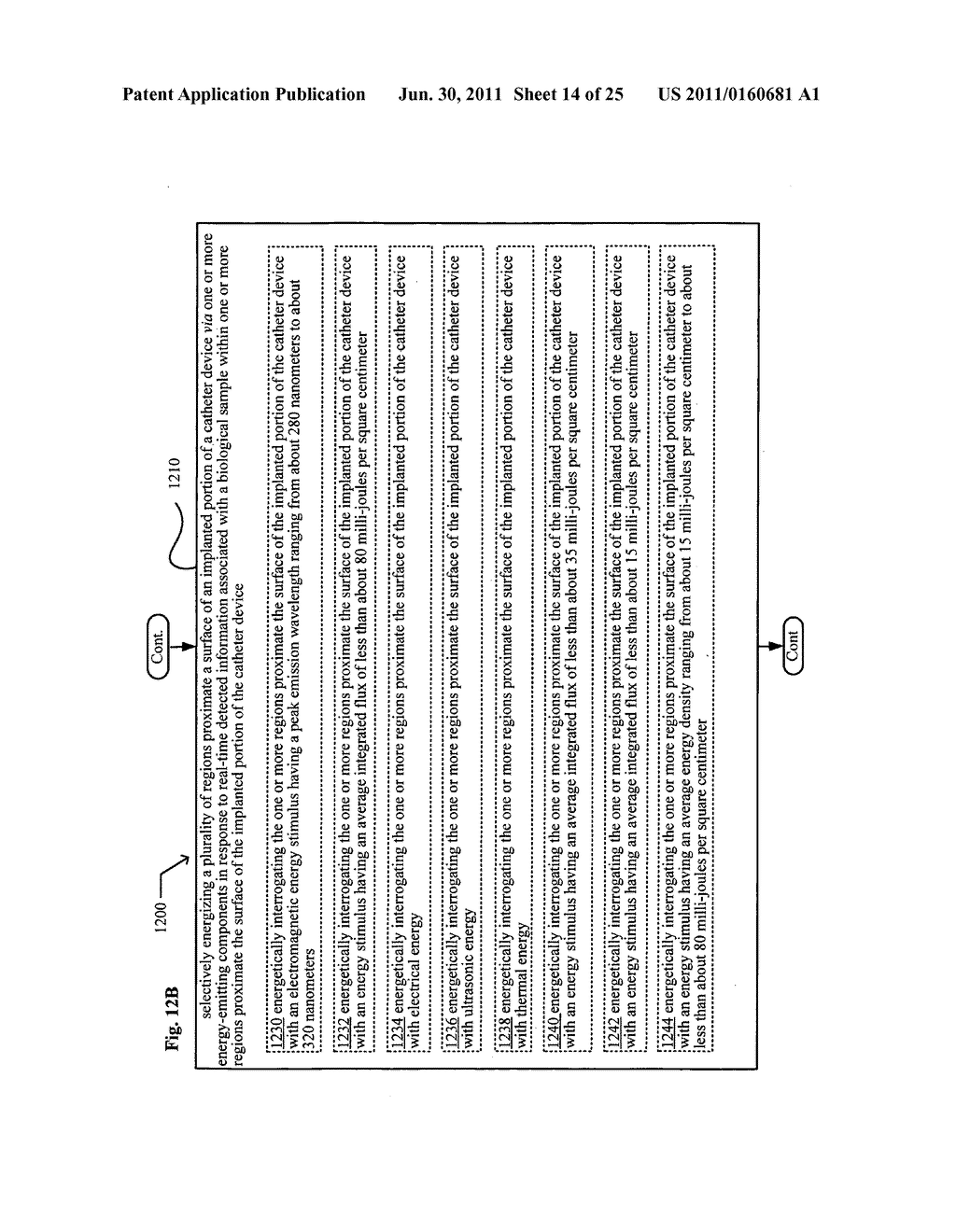 Systems, devices, and methods including catheters having light removable     coatings based on a sensed condition - diagram, schematic, and image 15