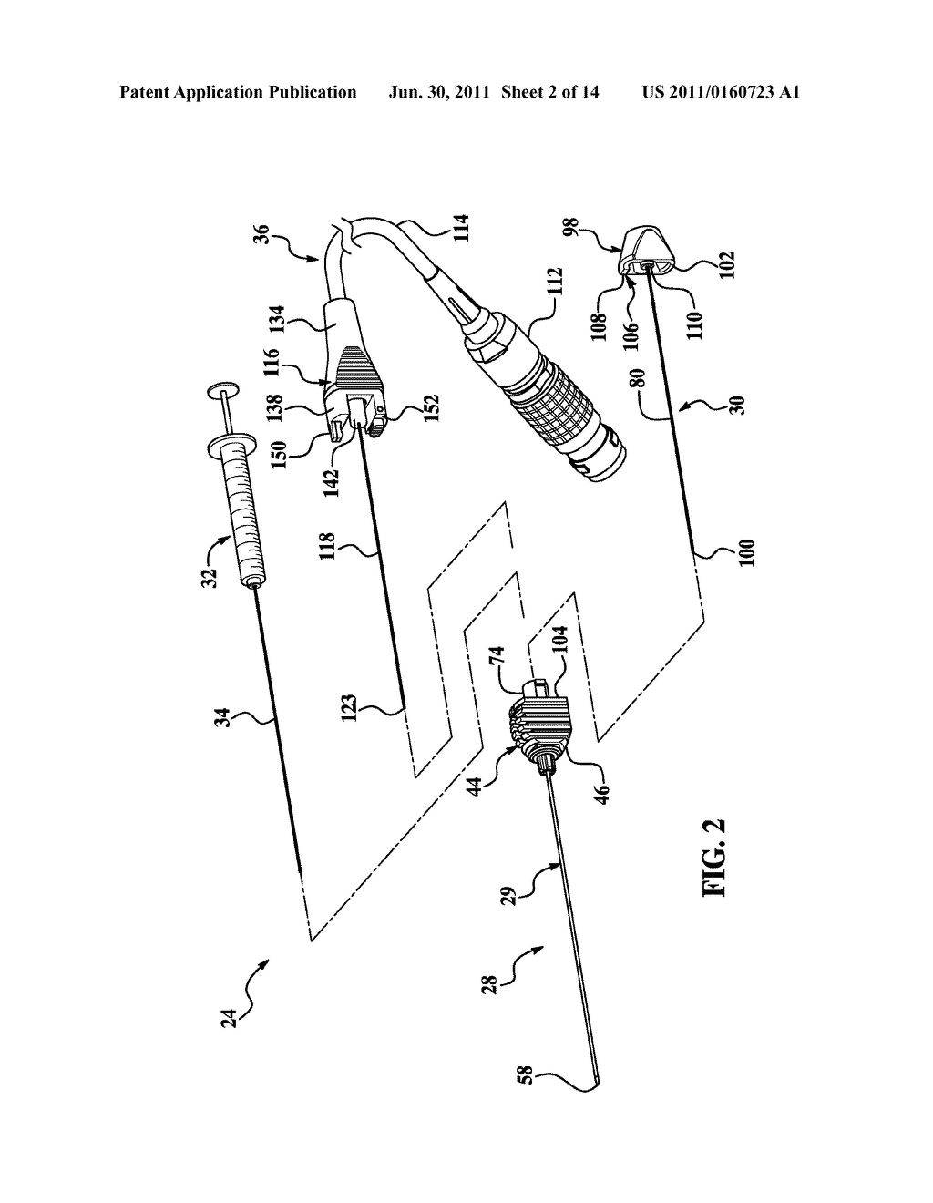BIPOLAR CANNULA FOR USE WITH AN ELECTRODE ASSEMBLY HAVING A SEPARATE     SUPPLY ELECTRODE - diagram, schematic, and image 03