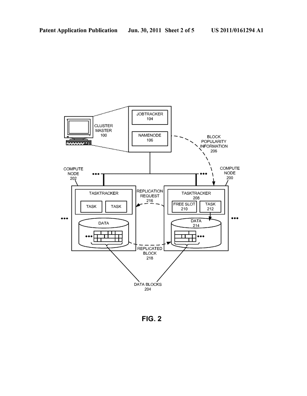 METHOD FOR DETERMINING WHETHER TO DYNAMICALLY REPLICATE DATA - diagram, schematic, and image 03