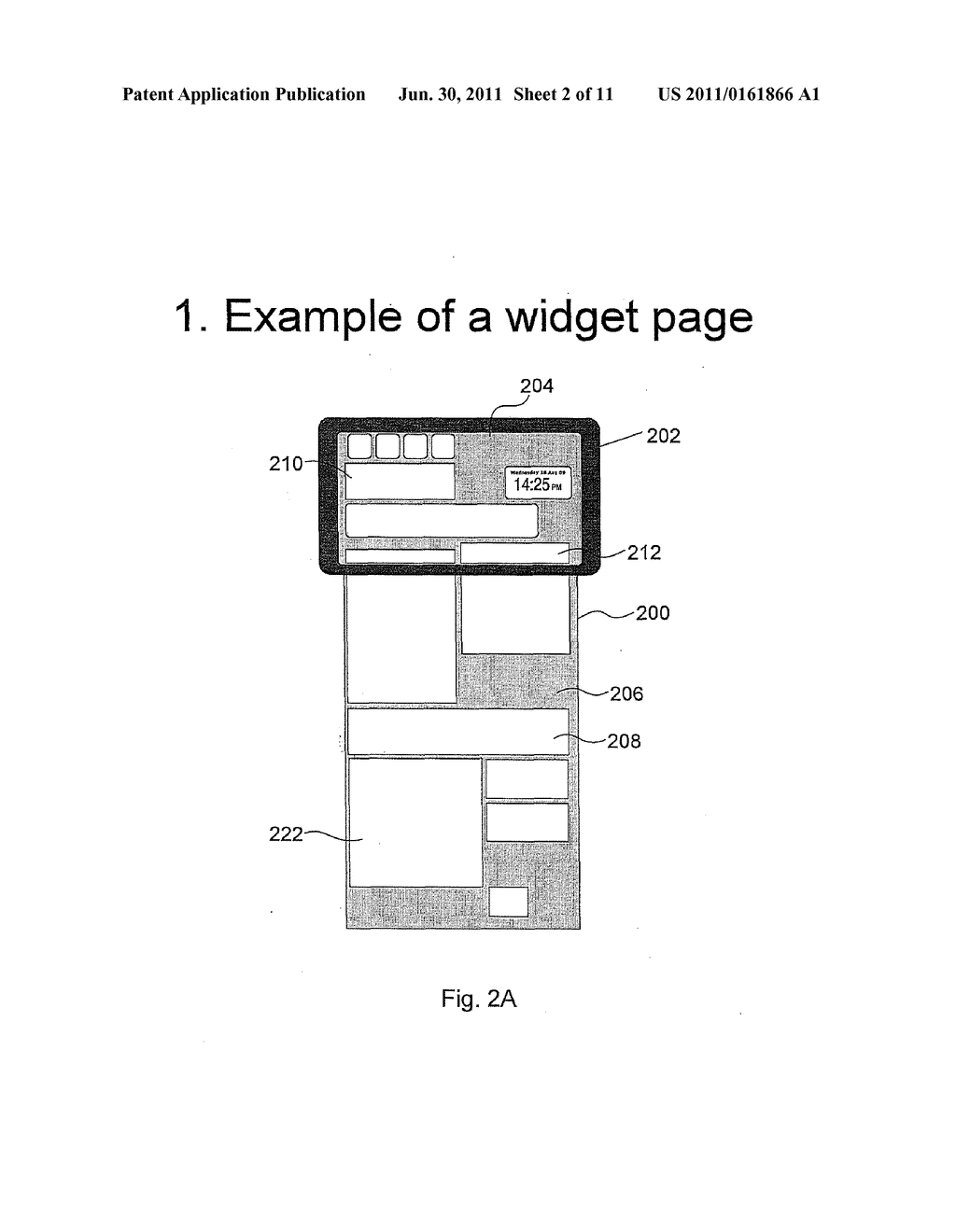 METHOD AND APPARATUS FOR MANAGING NOTIFICATIONS FOR A LONG SCROLLABLE     CANVAS - diagram, schematic, and image 03