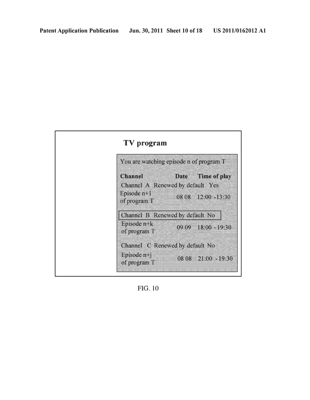 Method, Apparatus and System for Renewing Program - diagram, schematic, and image 11
