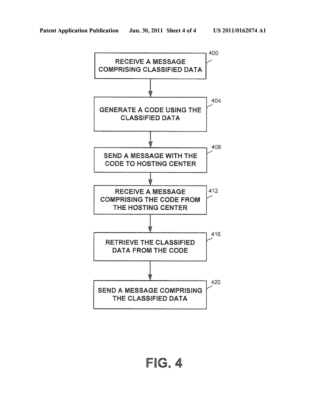 APPARATUS AND METHOD FOR REMOTE PROCESSING WHILE SECURING CLASSIFIED DATA - diagram, schematic, and image 05