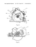 HAND HELD CIRCULAR SAW POWER TOOL HAVING MULTIPLE MODES OF OPERATION diagram and image