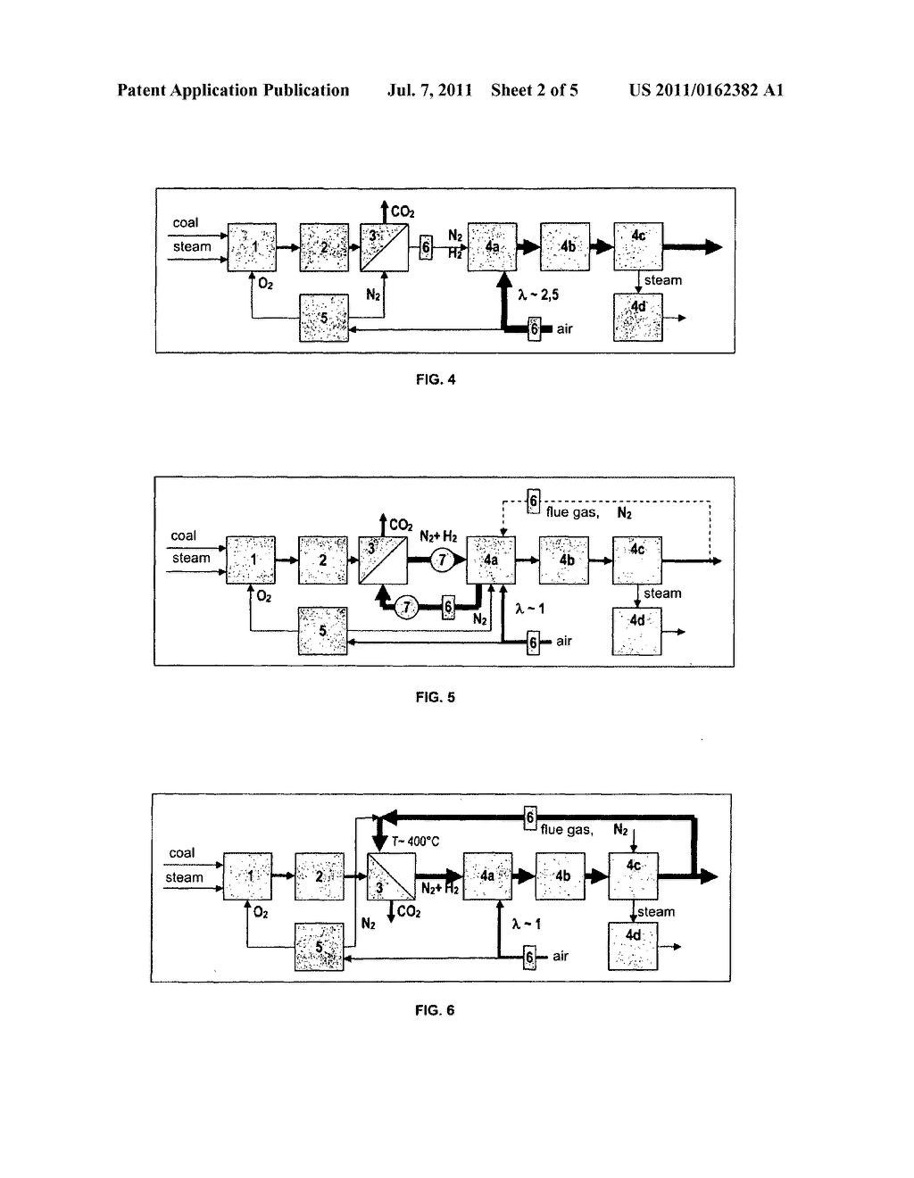 Igcc Power Plant Having Flue Gas Recirculation And Flushing Schematic Diagram Image 03