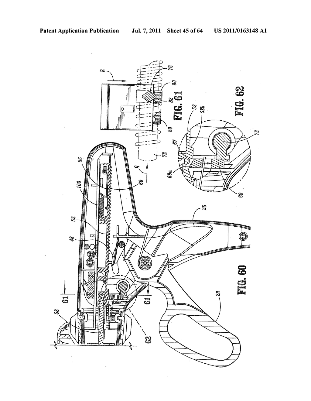 Surgical Stapling Device - diagram, schematic, and image 46