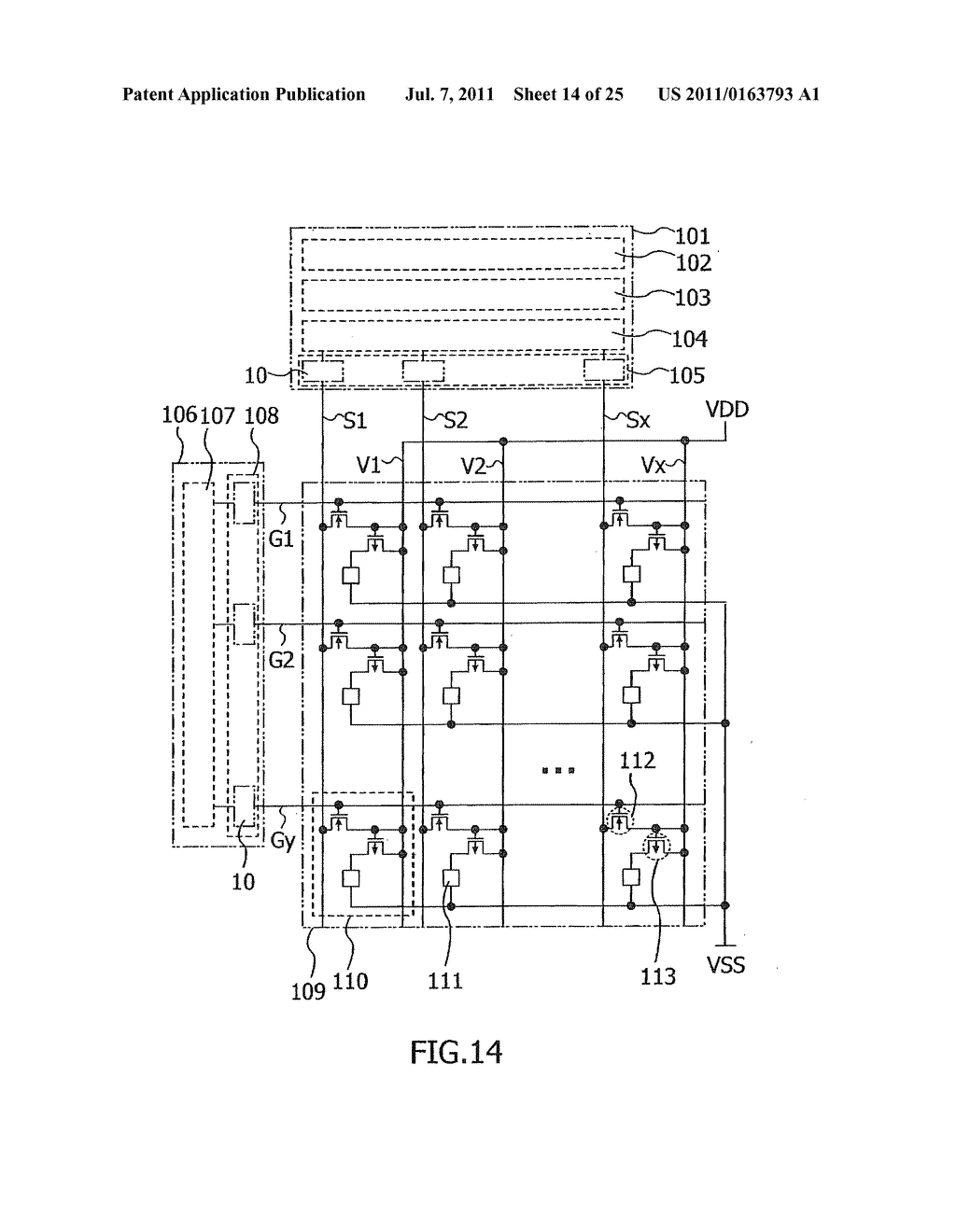SEMICONDUCTOR DEVICE AND ELECTRONIC APPLIANCE USING THE SAME - diagram, schematic, and image 15