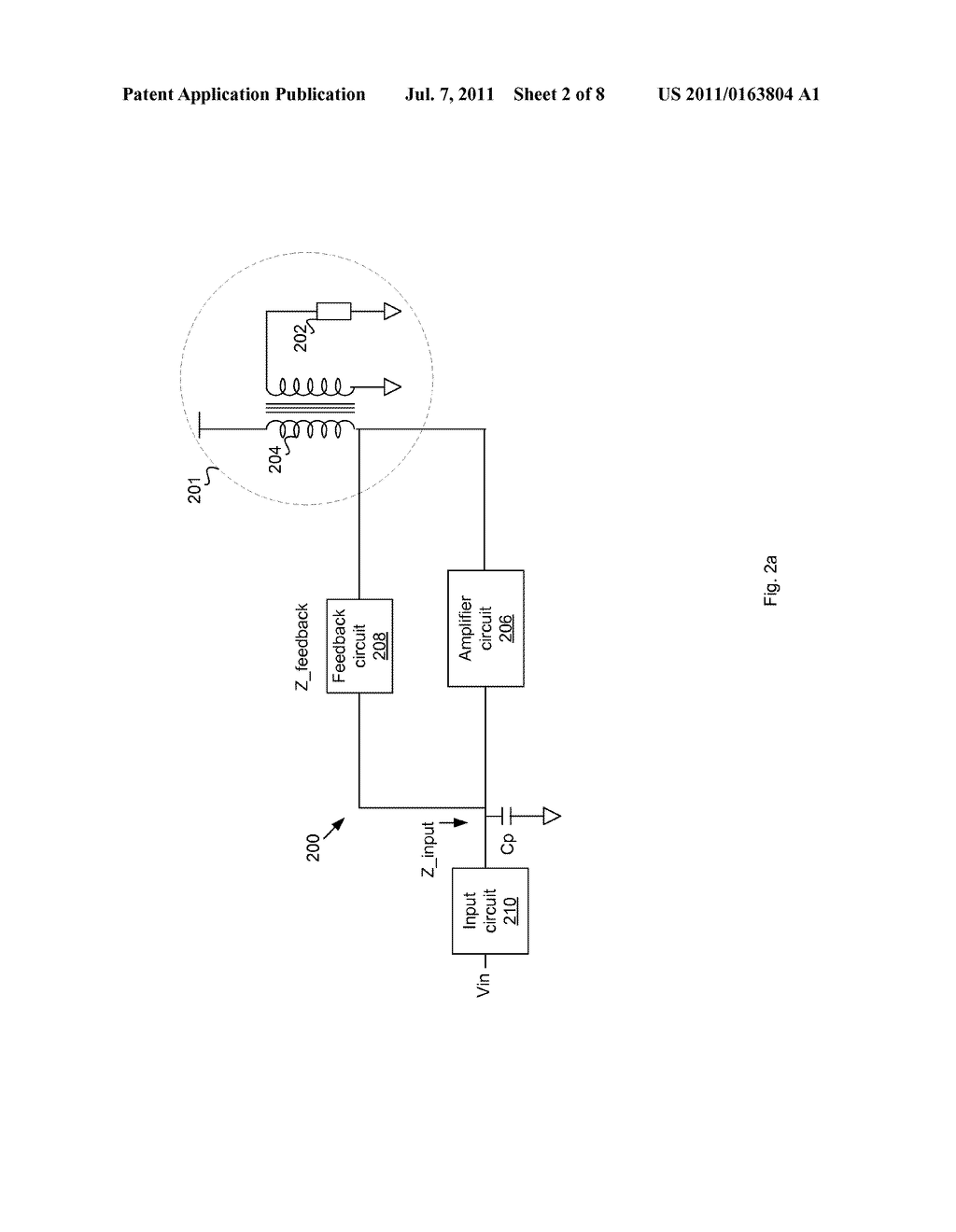 Power Amplifier with Feedback Impedance for Stable Output - diagram, schematic, and image 03