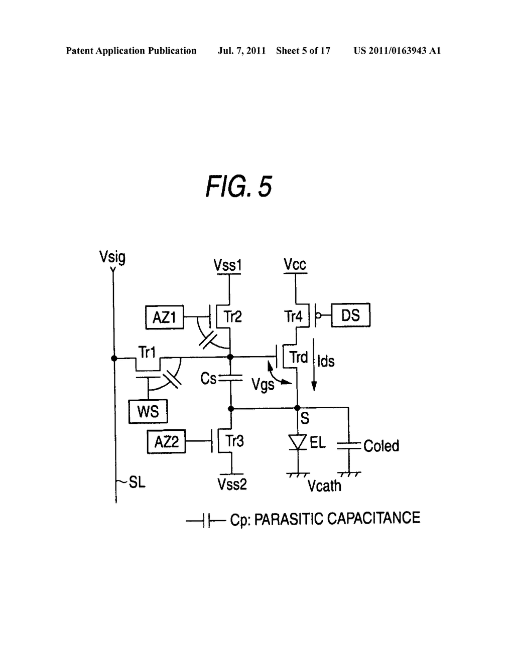 Image display device and electronic appliance - diagram, schematic, and image 06
