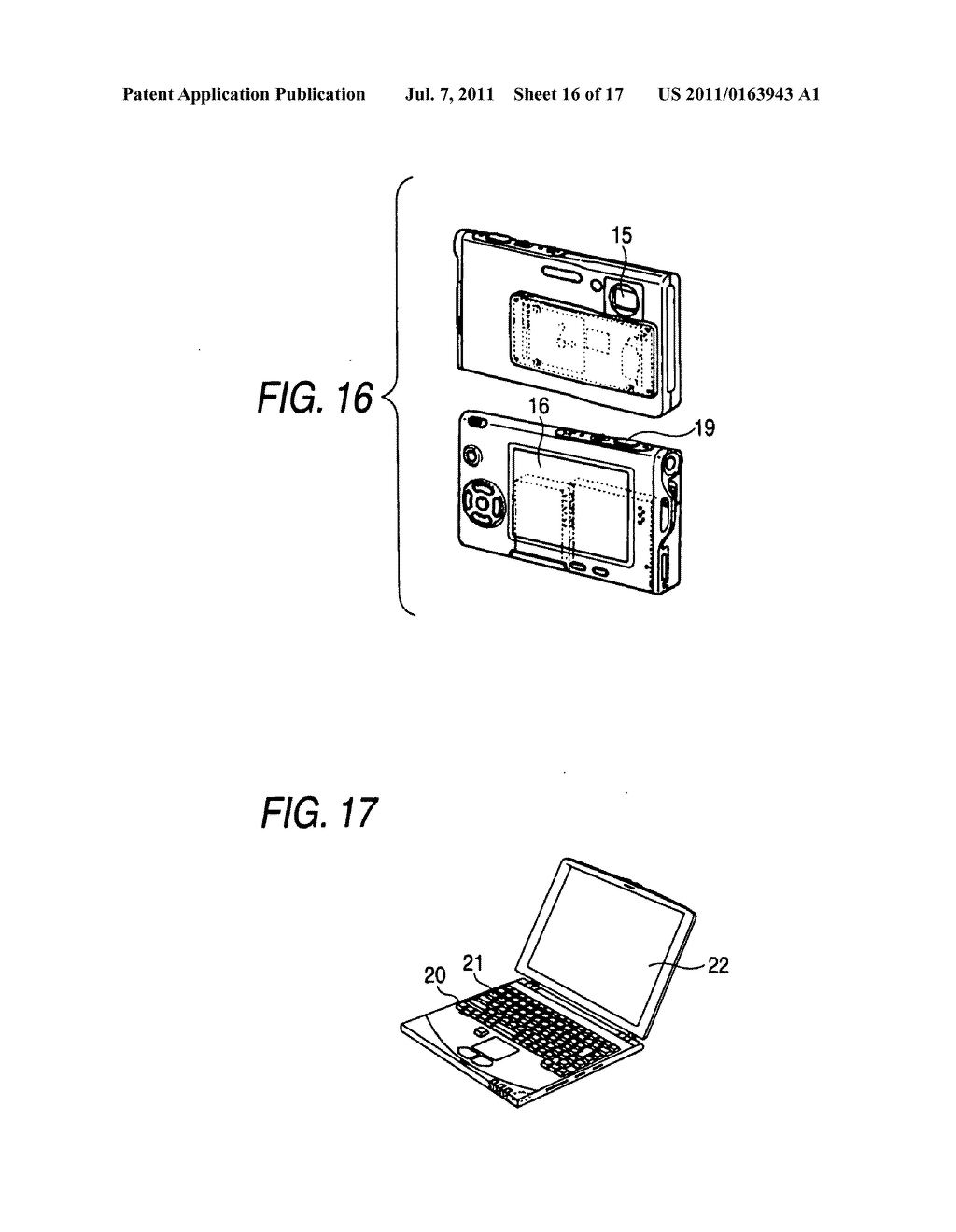 Image display device and electronic appliance - diagram, schematic, and image 17
