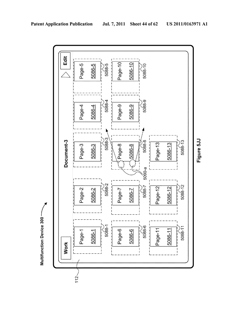 Device, Method, and Graphical User Interface for Navigating and Displaying     Content in Context - diagram, schematic, and image 45