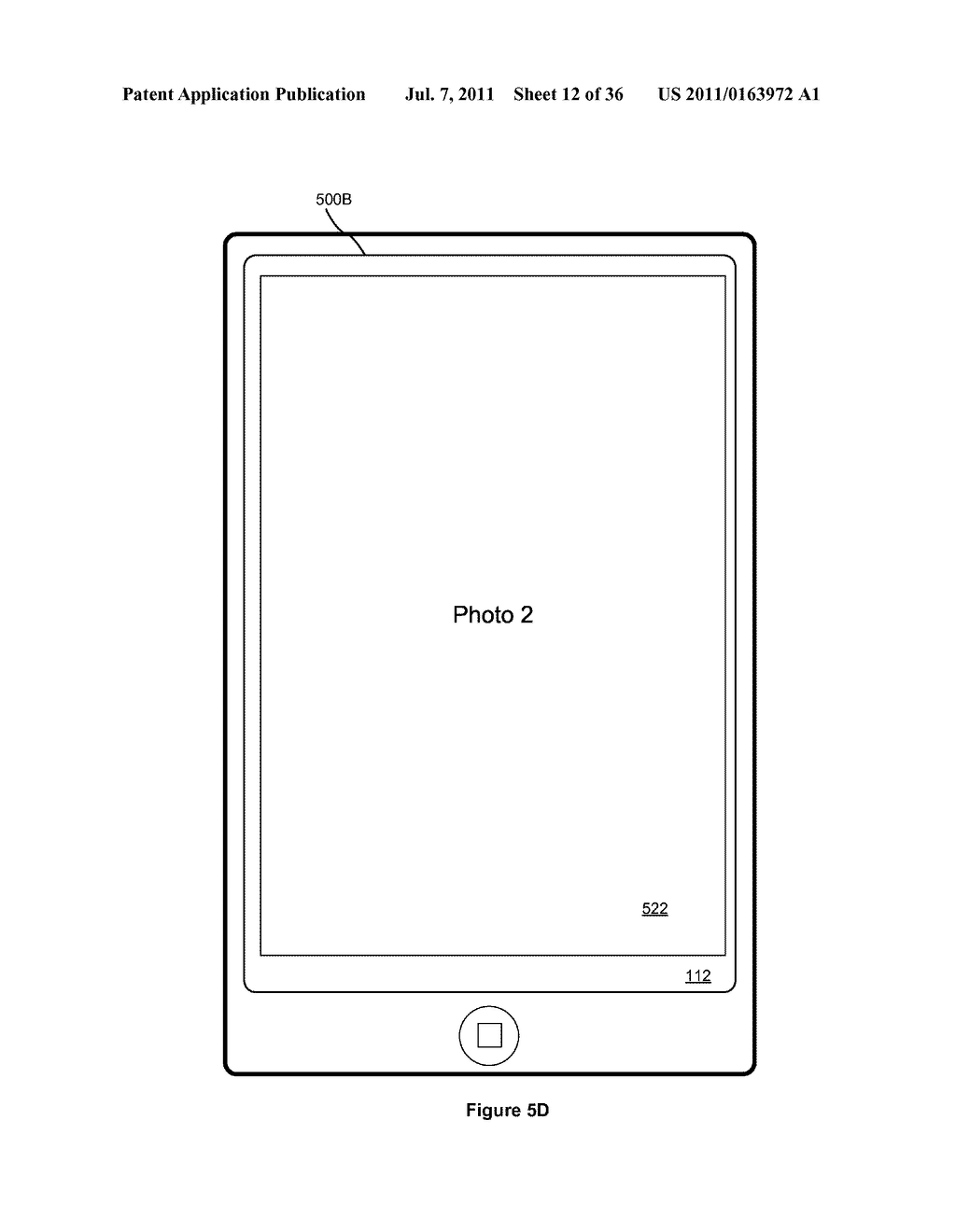 Device, Method, and Graphical User Interface for Interacting with a     Digital Photo Frame - diagram, schematic, and image 13