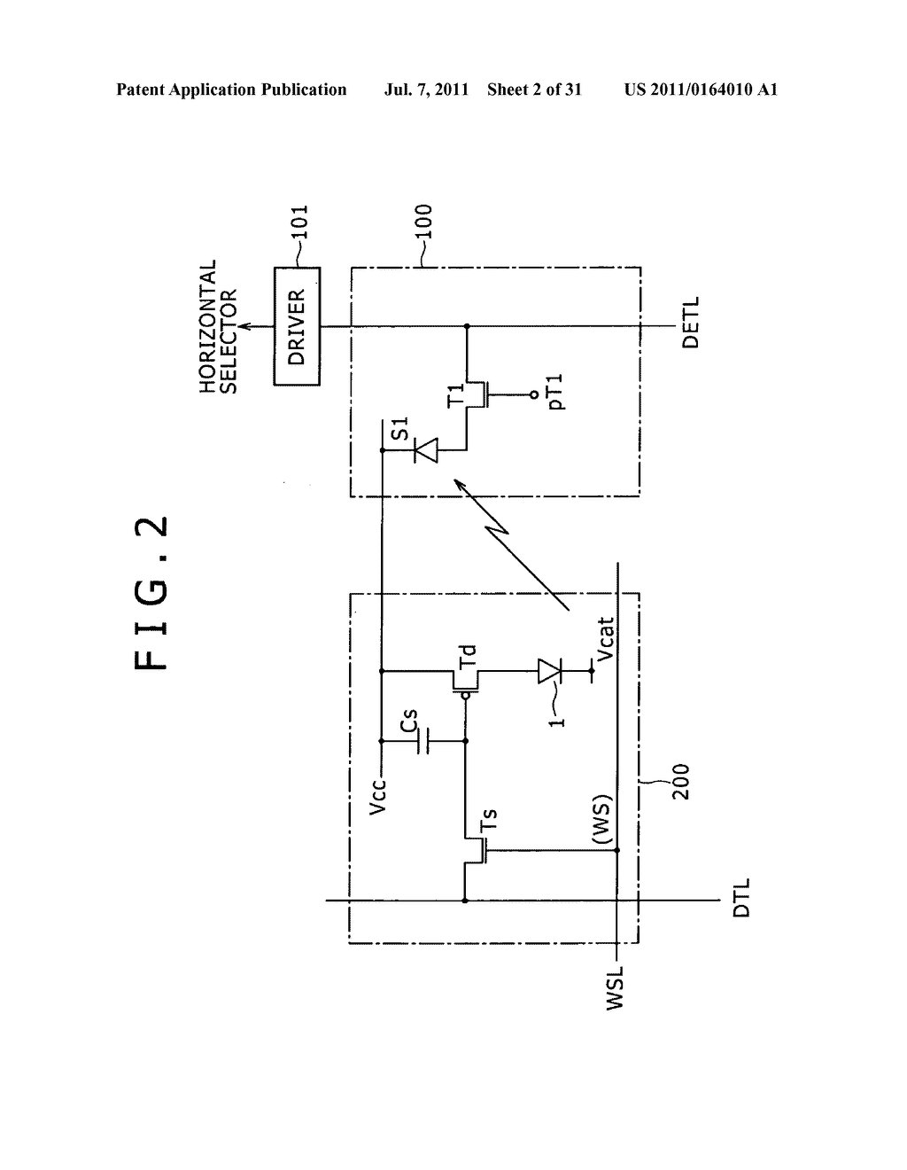 Display apparatus, light detection method and electronic apparatus - diagram, schematic, and image 03