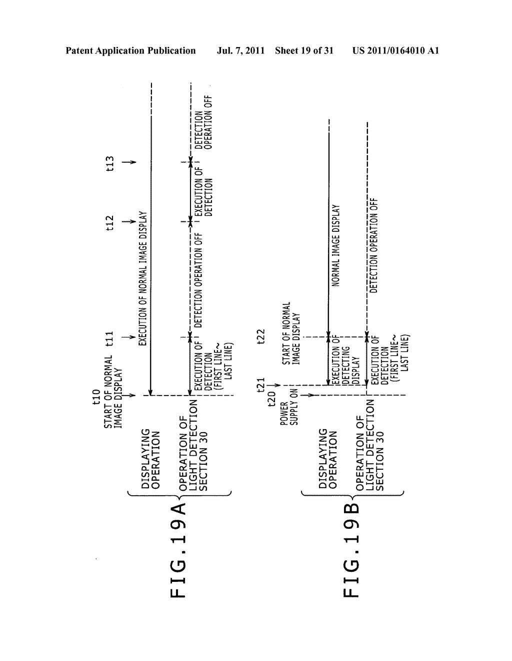 Display apparatus, light detection method and electronic apparatus - diagram, schematic, and image 20