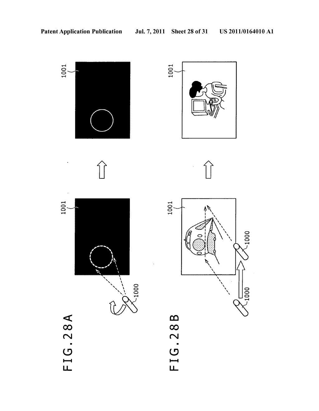 Display apparatus, light detection method and electronic apparatus - diagram, schematic, and image 29