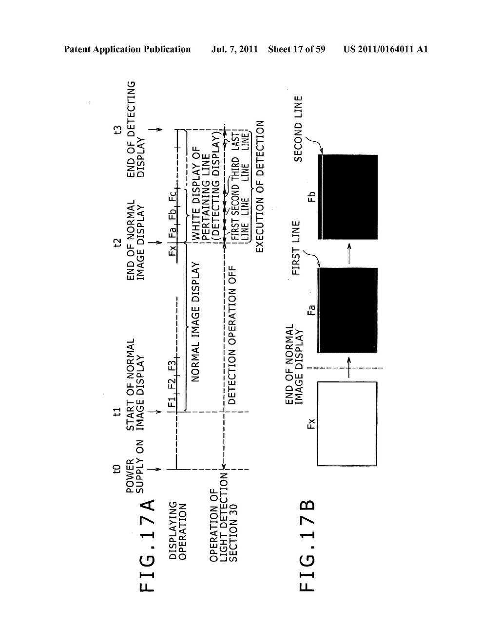Display apparatus, light detection method and electronic apparatus - diagram, schematic, and image 18