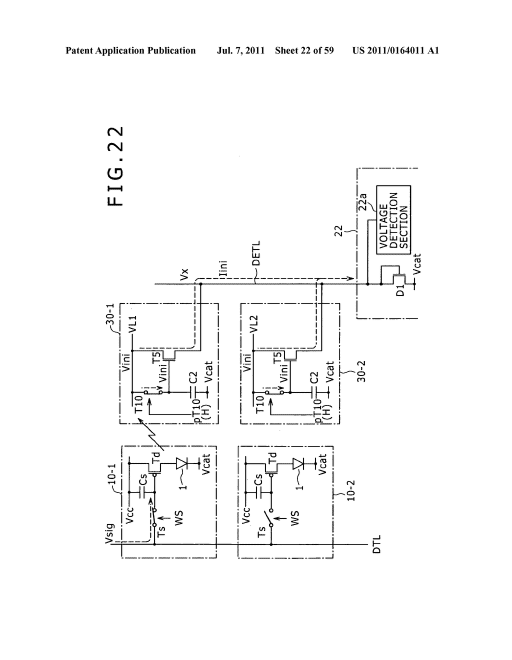 Display apparatus, light detection method and electronic apparatus - diagram, schematic, and image 23