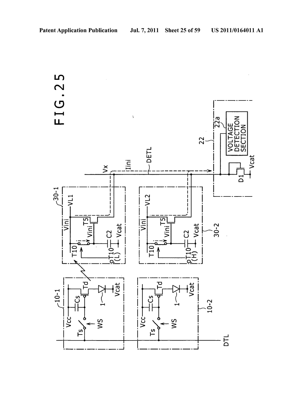 Display apparatus, light detection method and electronic apparatus - diagram, schematic, and image 26