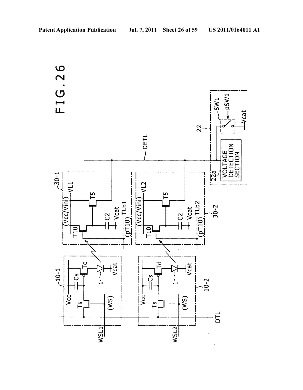 Display apparatus, light detection method and electronic apparatus - diagram, schematic, and image 27