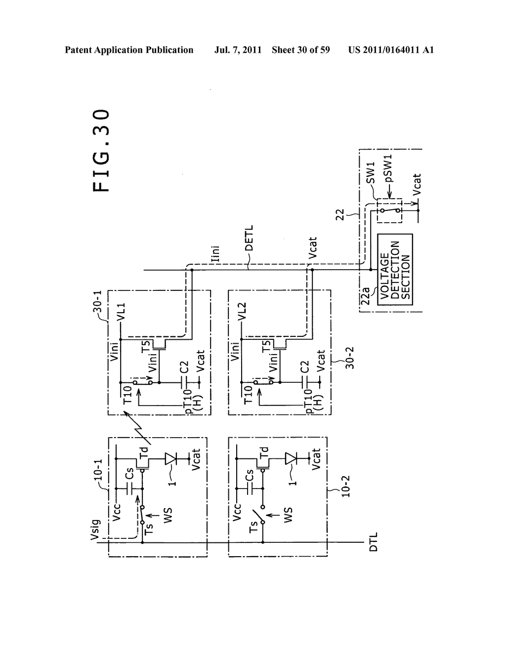 Display apparatus, light detection method and electronic apparatus - diagram, schematic, and image 31