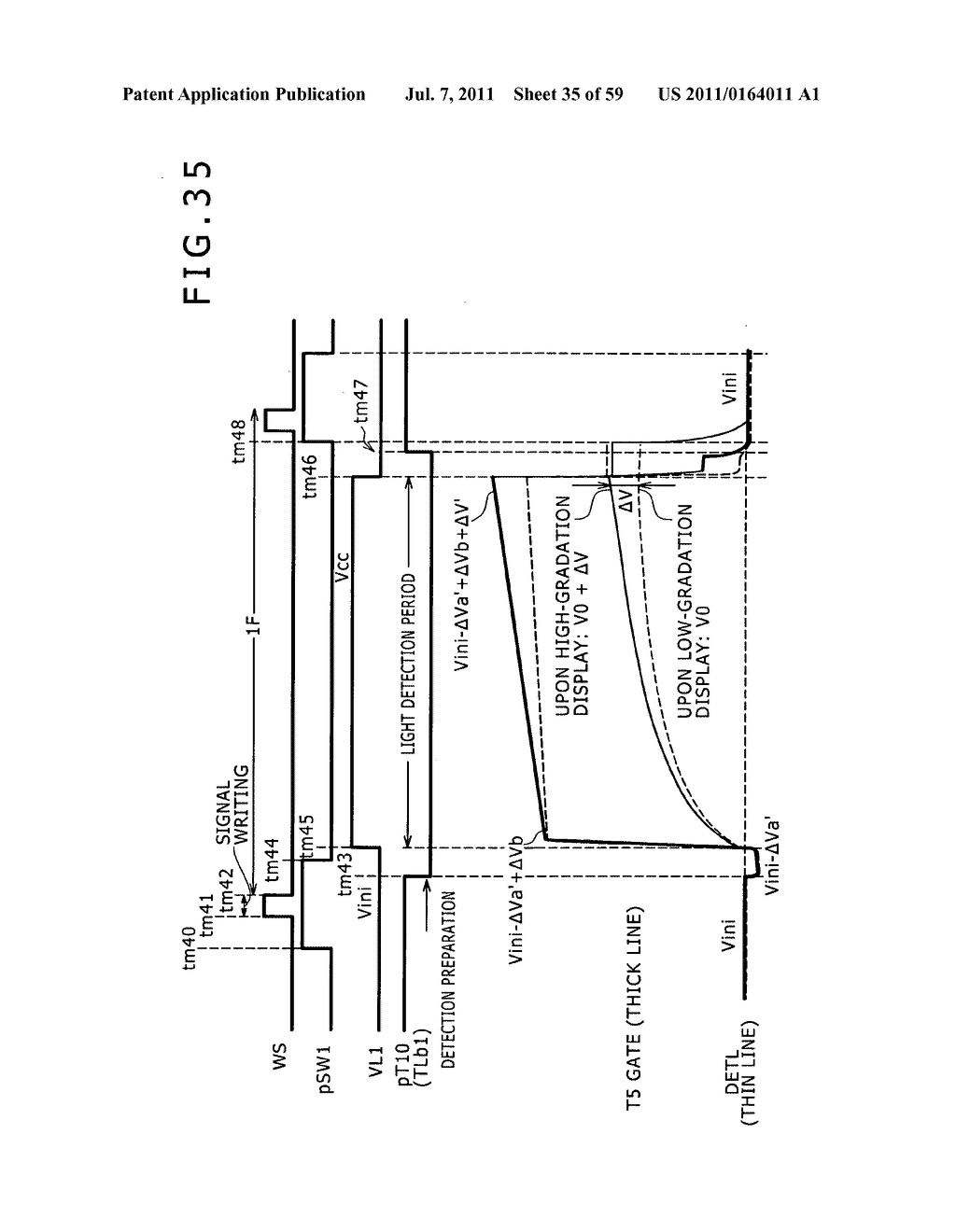 Display apparatus, light detection method and electronic apparatus - diagram, schematic, and image 36